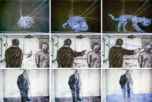 William Kentridge, Stereoskop (Drawings from Stereoscope)
