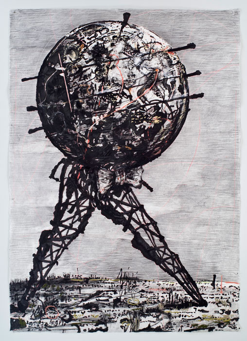 William Kentridge, Walking World